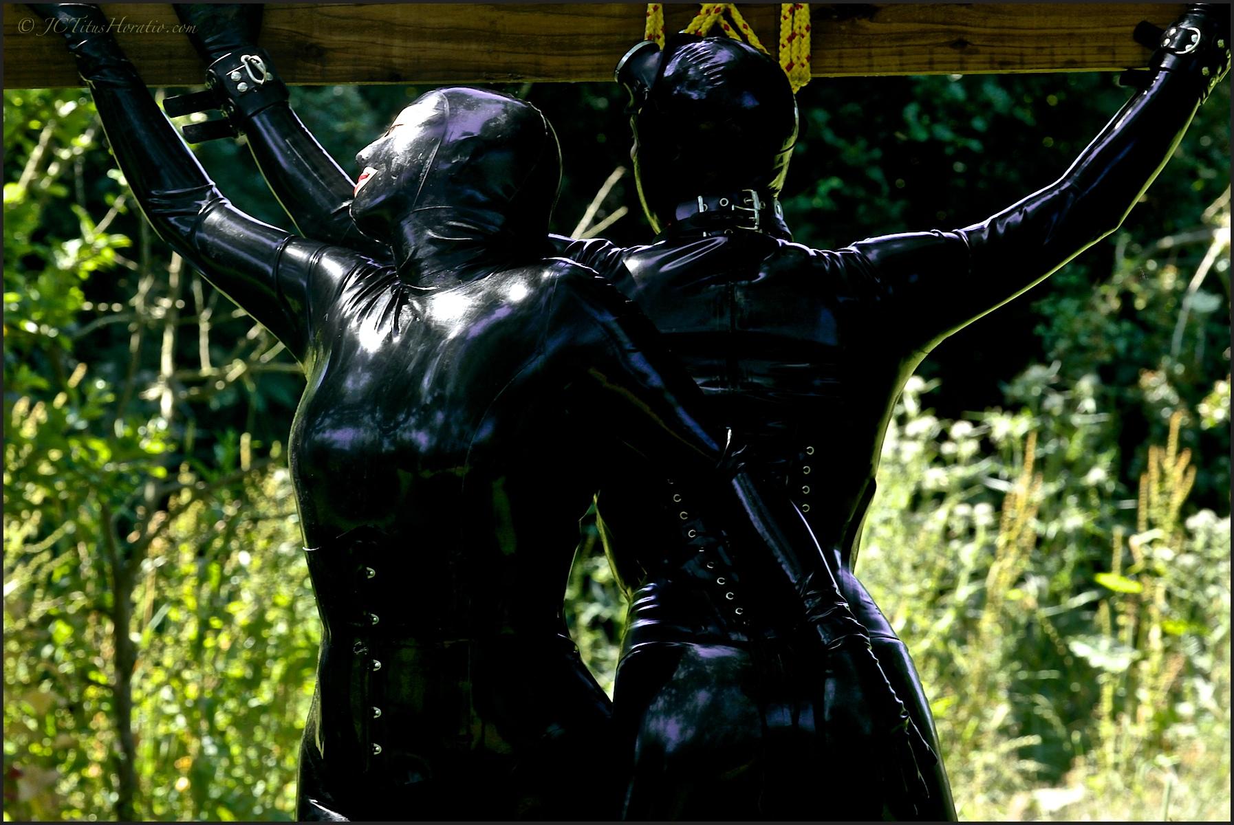 rubber lover jc titus horatio benedict clark